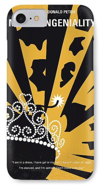 No652 My Miss Congeniality Minimal Movie Poster IPhone Case by Chungkong Art