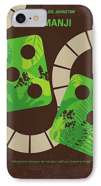 No653 My Jumanji Minimal Movie Poster IPhone Case by Chungkong Art