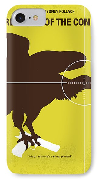 No659 My Three Days Of The Condor Minimal Movie Poster IPhone 7 Case by Chungkong Art