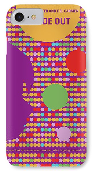 No664 My Inside Out Minimal Movie Poster IPhone Case