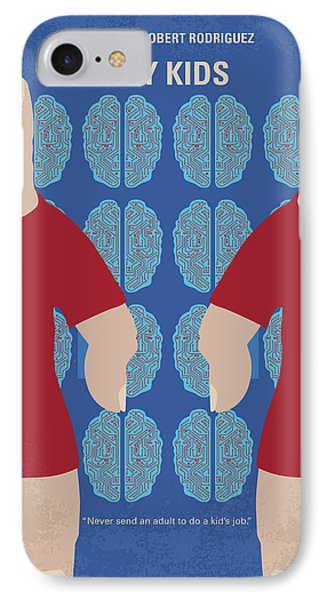 No681 My Spy Kids Minimal Movie Poster IPhone Case by Chungkong Art