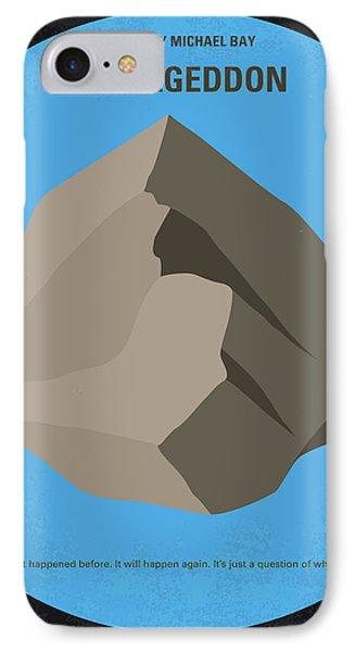 Ben Affleck iPhone 7 Case - No695 My Armageddon Minimal Movie Poster by Chungkong Art