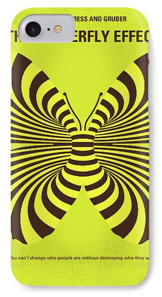 No697 My The Butterfly Effect Minimal Movie Poster IPhone Case