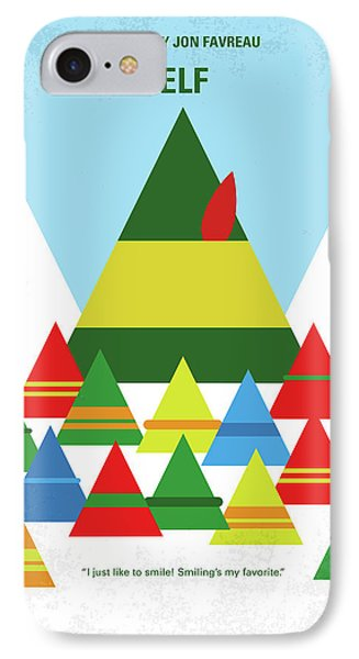 No699 My Elf Minimal Movie Poster IPhone Case by Chungkong Art
