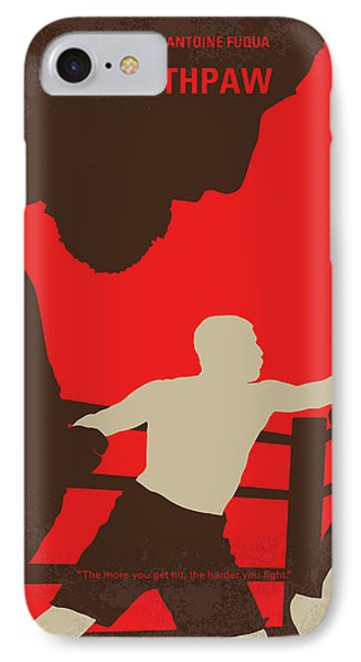 No723 My Southpaw Minimal Movie Poster IPhone Case by Chungkong Art