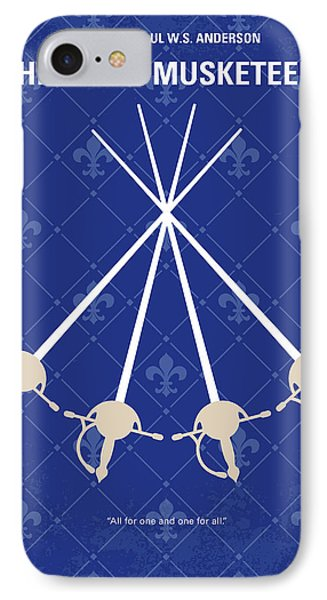No724 My The Three Musketeers Minimal Movie Poster IPhone Case