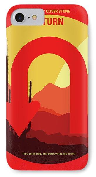 No745 My Uturn Minimal Movie Poster IPhone Case by Chungkong Art