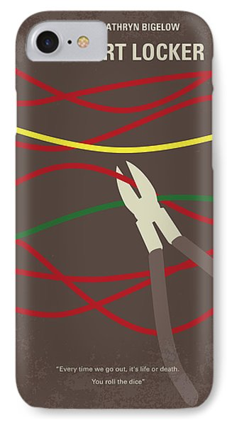 No746 My The Hurt Locker Minimal Movie Poster IPhone Case by Chungkong Art