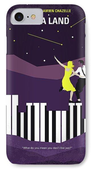 No756 My La La Land Minimal Movie Poster IPhone 7 Case