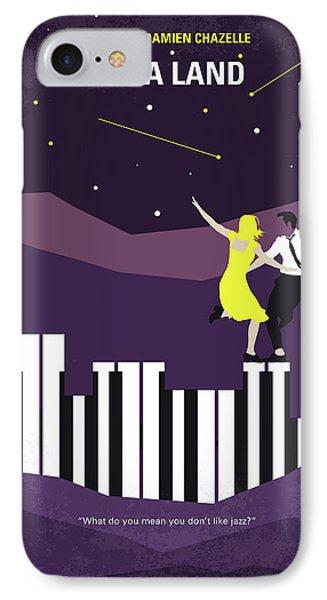 No756 My La La Land Minimal Movie Poster IPhone Case by Chungkong Art