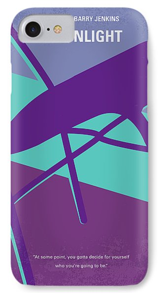 Miami iPhone 7 Case - No757 My Moonlight Minimal Movie Poster by Chungkong Art