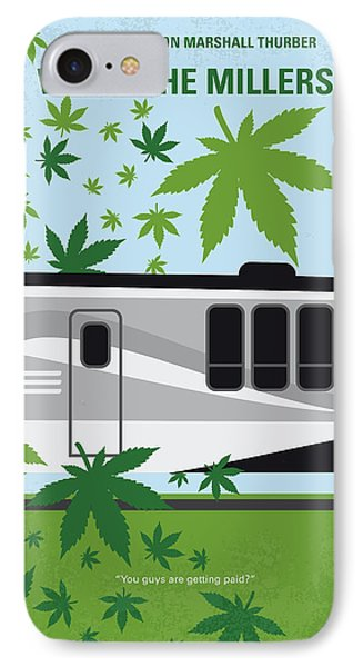 No763 My We Are The Millers Minimal Movie Poster IPhone Case by Chungkong Art