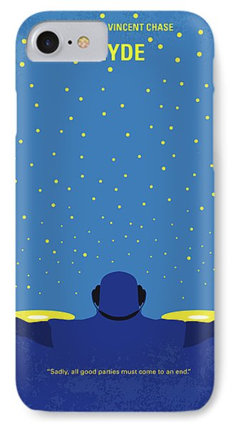 No777 My Hyde Minimal Movie Poster IPhone Case by Chungkong Art