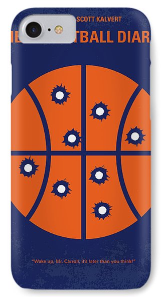 No782 My The Basketball Diaries Minimal Movie Poster IPhone Case