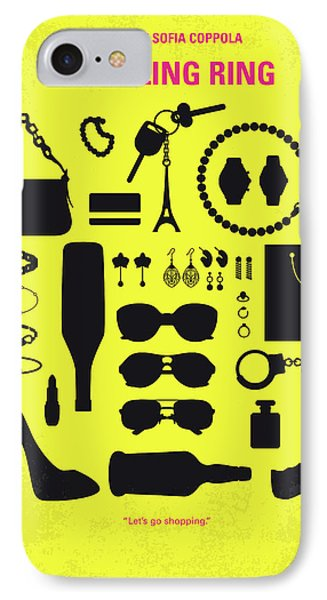 No784 My The Bling Ring Minimal Movie Poster IPhone Case by Chungkong Art