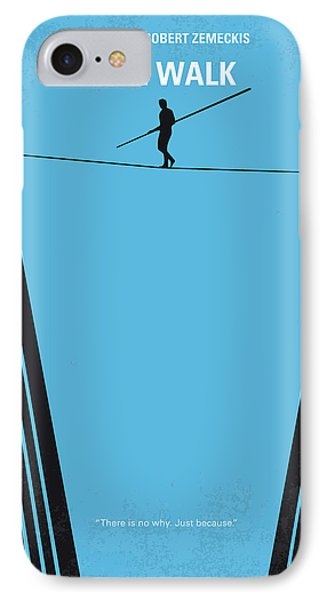 No796 My The Walk Minimal Movie Poster IPhone Case by Chungkong Art
