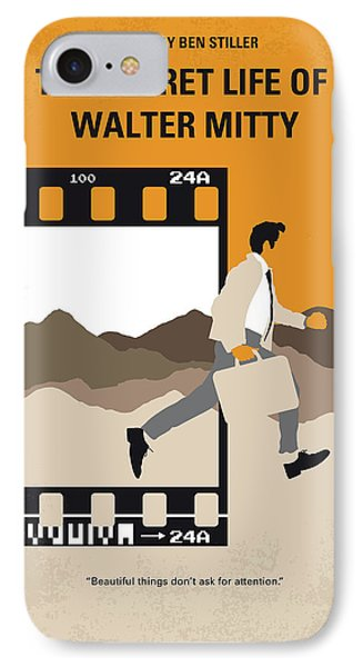 No806 My The Secret Life Of Walter Mitty Minimal Movie Poster IPhone Case