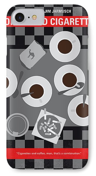 No808 My Coffee And Cigarettes Minimal Movie Poster IPhone Case