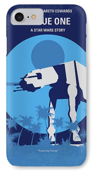 No819 My Rogue One Minimal Movie Poster IPhone Case