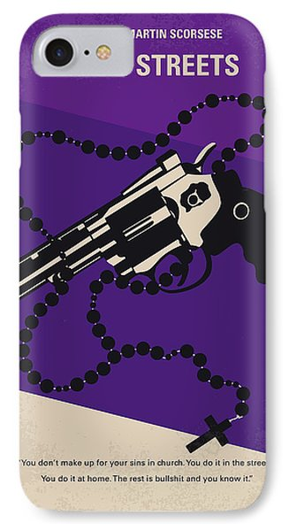 No823 My Mean Streets Minimal Movie Poster IPhone Case