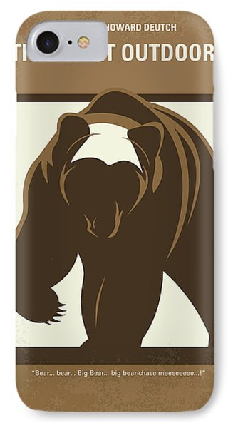 No824 My The Great Outdoors Minimal Movie Poster IPhone Case