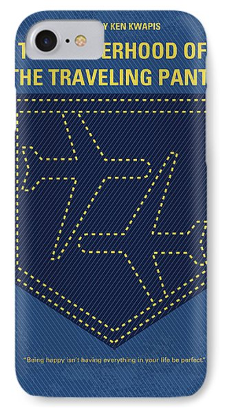 No826 My The Sisterhood Of The Traveling Pants Minimal Movie Poster IPhone Case