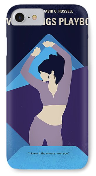 No832 My Silver Linings Playbook Minimal Movie Poster IPhone Case