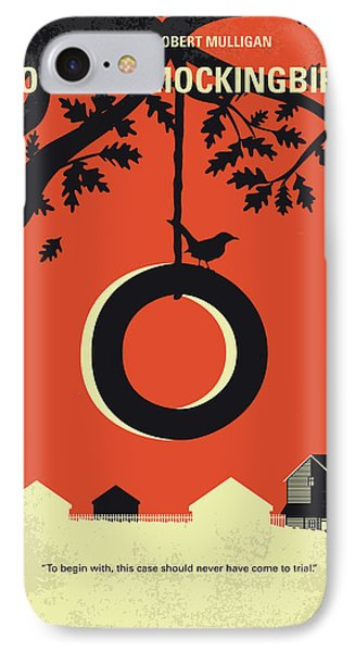 No844 My To Kill A Mockingbird Minimal Movie Poster IPhone 7 Case