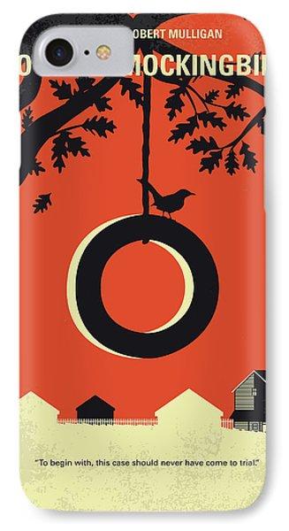 No844 My To Kill A Mockingbird Minimal Movie Poster IPhone Case