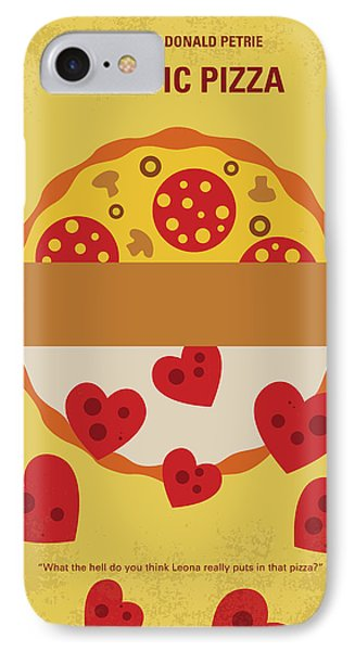 No846 My Mystic Pizza Minimal Movie Poster IPhone Case