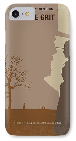 Universities iPhone 7 Case - No860 My True Grit Minimal Movie Poster by Chungkong Art
