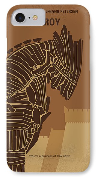 Orlando Bloom iPhone 7 Case - No862 My Troy Minimal Movie Poster by Chungkong Art