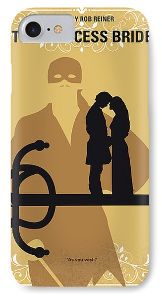 Robin iPhone 7 Case - No877 My The Princess Bride Minimal Movie Poster by Chungkong Art