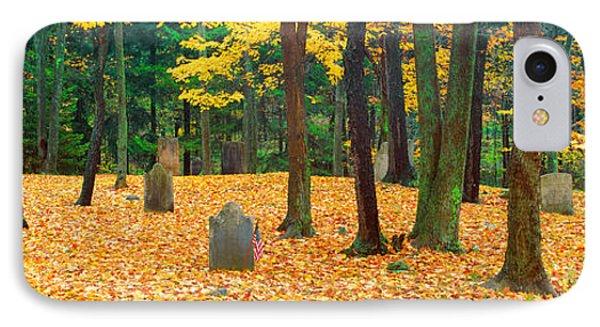 Noah Phelps Grave In Revolutionary War IPhone Case