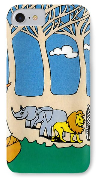 Noah's Ark Phone Case by Genevieve Esson