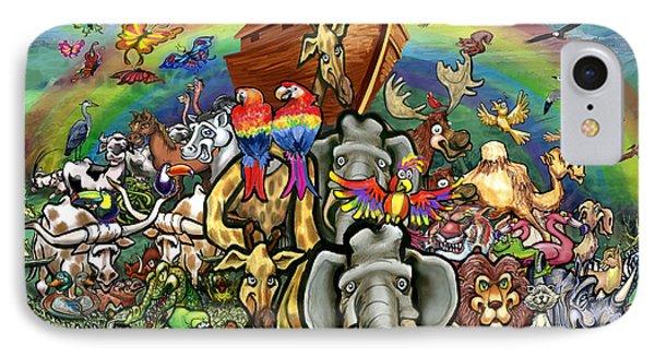 Noah's Ark Phone Case by Kevin Middleton