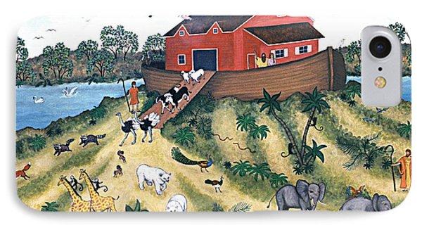 Noah's Ark Phone Case by Linda Mears