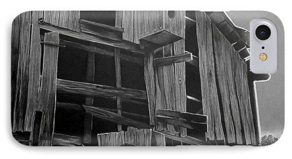 Noble Barn  IPhone Case by Jason Dunning
