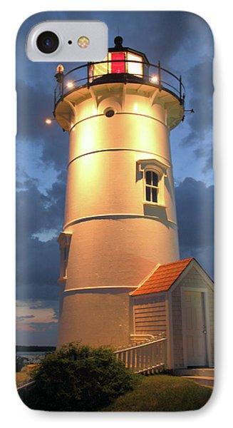 Nobska Point Lighthouse IPhone Case by Roupen  Baker