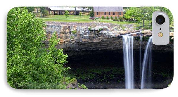Noccolula Falls Gadsden Alabama IPhone Case by Kathy Clark
