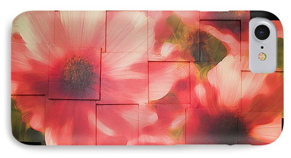 Nocturnal Pinks Photo Sculpture IPhone Case by Michael Bessler