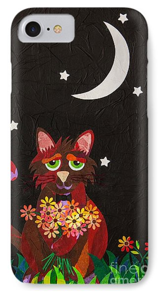 Nocturnal Romantic IPhone Case by Diane Miller