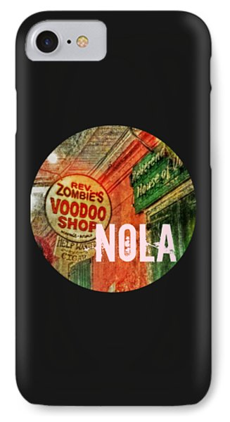 New Orleans Voodoo T Shirt IPhone Case