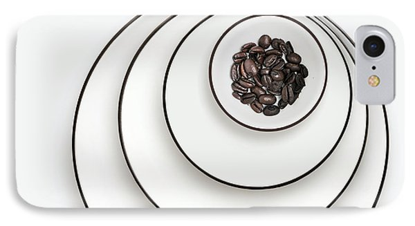 Nonconcentric Dishware And Coffee IPhone Case by Joe Bonita