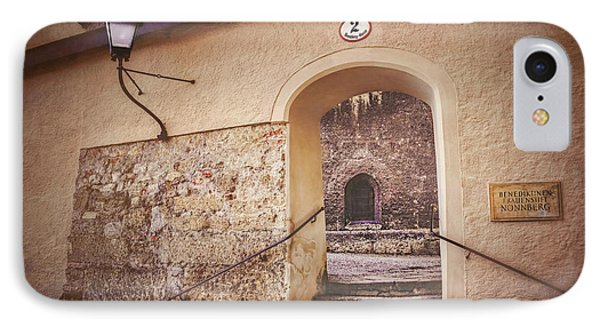 IPhone Case featuring the photograph Nonnberg Abbey In Salzburg Austria  by Carol Japp