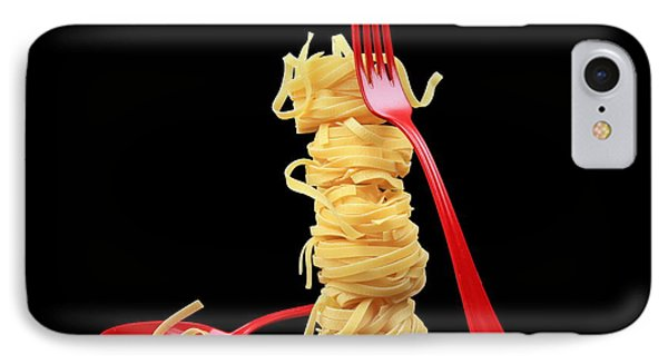 Noodles-pasta Phone Case by Manfred Lutzius