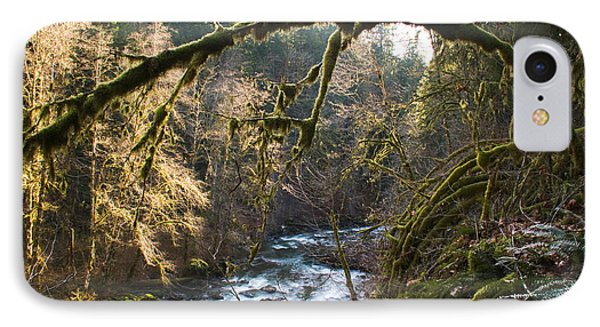 IPhone Case featuring the photograph Nooksack River by Yulia Kazansky