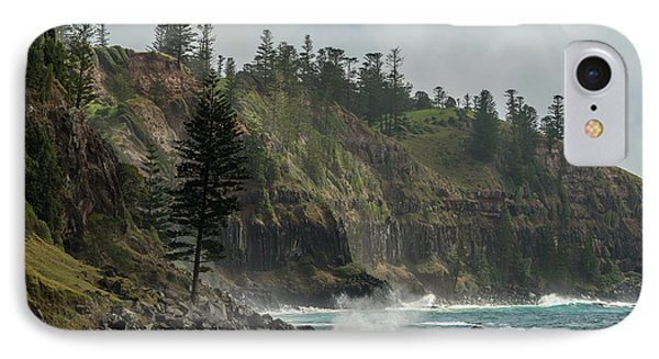 IPhone Case featuring the photograph Norfolk Island Coastline 01 by Werner Padarin