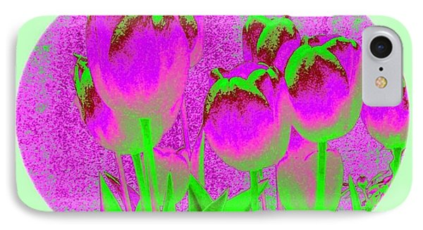 Noric House Tulips Phone Case by Will Borden
