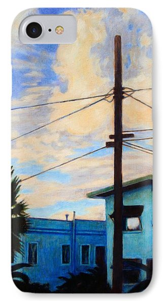 IPhone Case featuring the painting Normal Ave by Andrew Danielsen